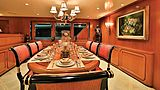 Nordic Star yacht dining room