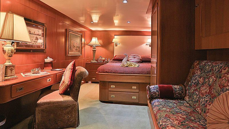 Nordic Star yacht stateroom