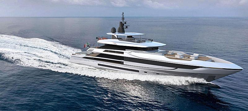Mangusta Oceano 50 exterior design