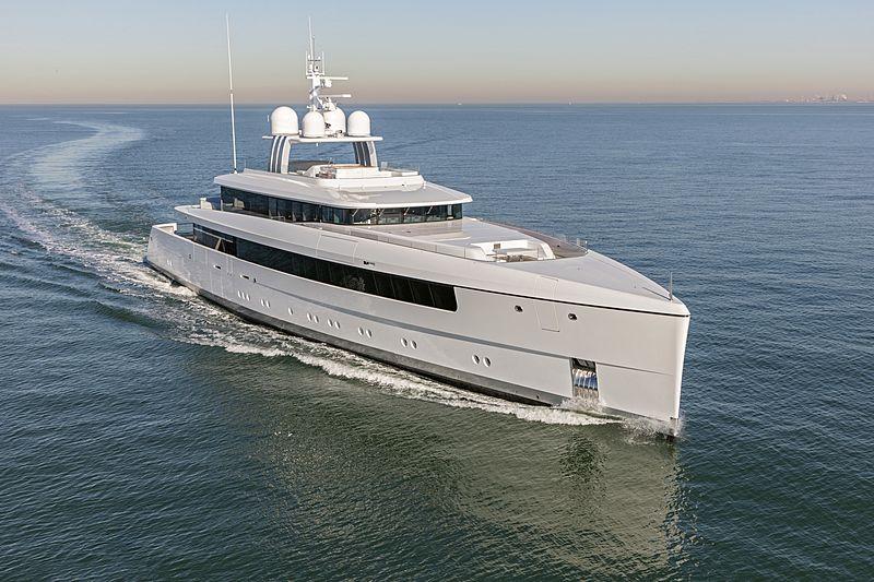 Najiba yacht delivery