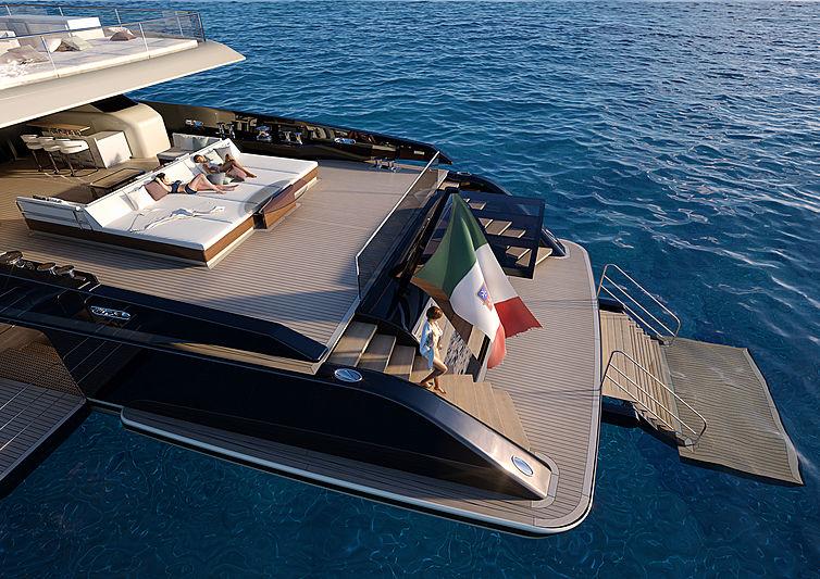 Perini Navi Argonaut motor yacht 63m exterior