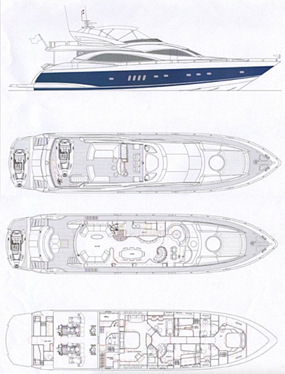 Sono yacht layout