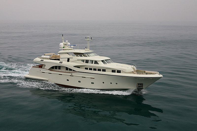 ANNA YAROSLAVA yacht Gianetti Yachts
