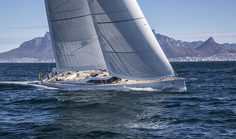 SW105#03 Power of 2 yacht sailing