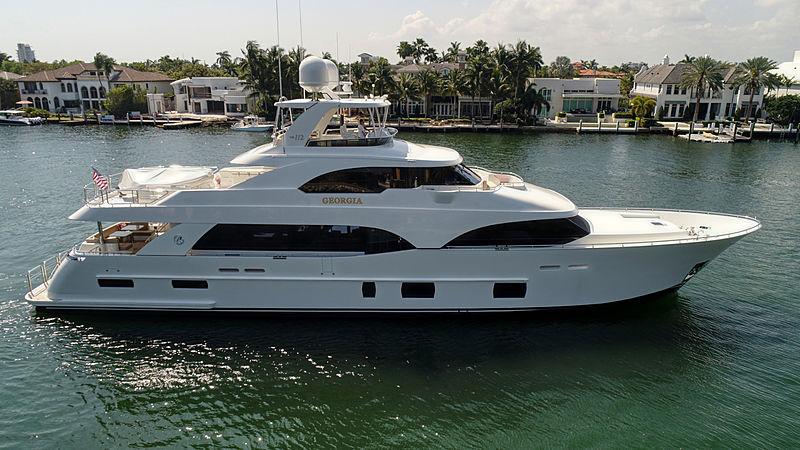 Georgia yacht cruising