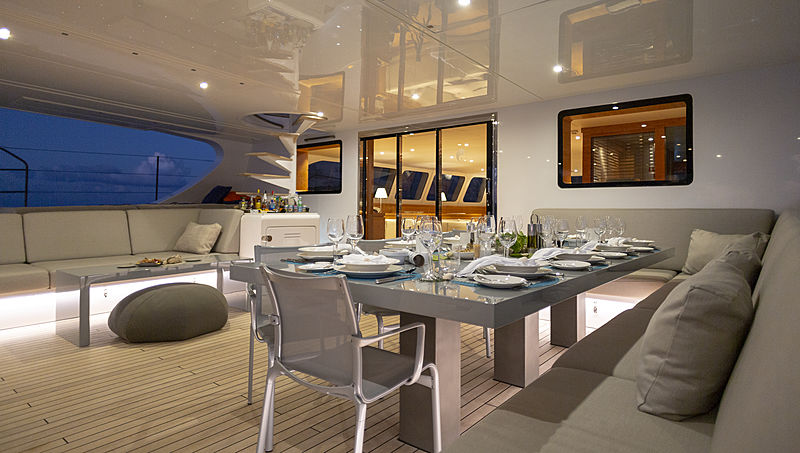 Che sailing yacht exterior