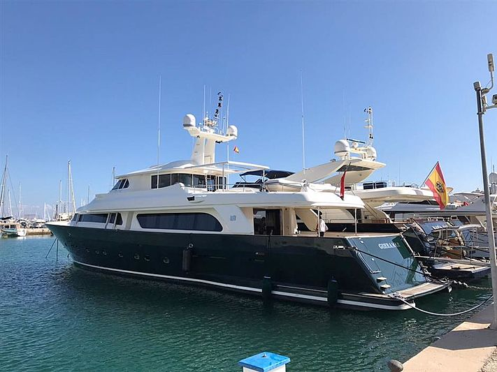 GIHRAMAR yacht Custom Line