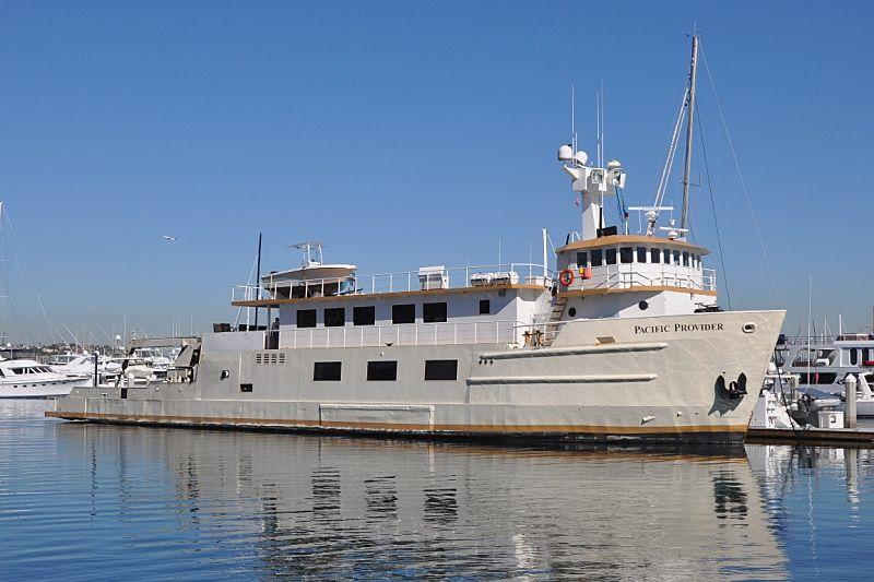 PACIFIC PROVIDER yacht Blount Marine