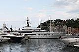 Hermitage yacht in Monaco