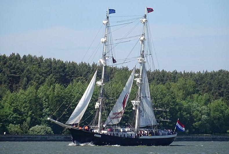 ROSSIYA yacht Scheepswerf Boot Leiden