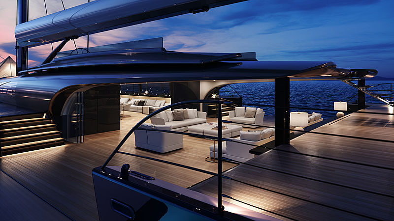 MM725 sailing yacht concept