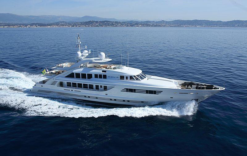 Rola yacht running