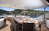 Rola yacht upper aft deck