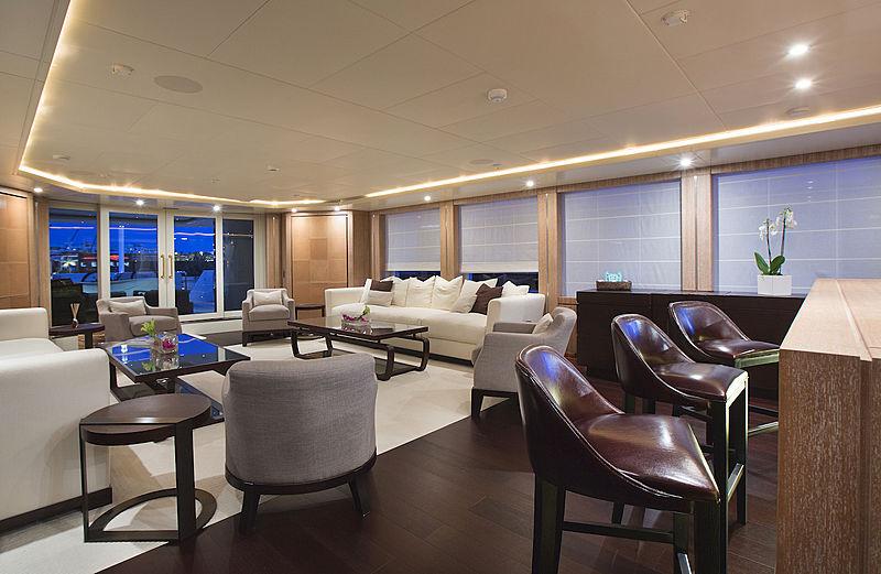 Rola yacht main saloon