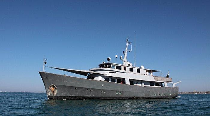 LA FENICE yacht Richards Iron Works
