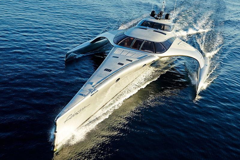 ADASTRA yacht McConaghy Boats