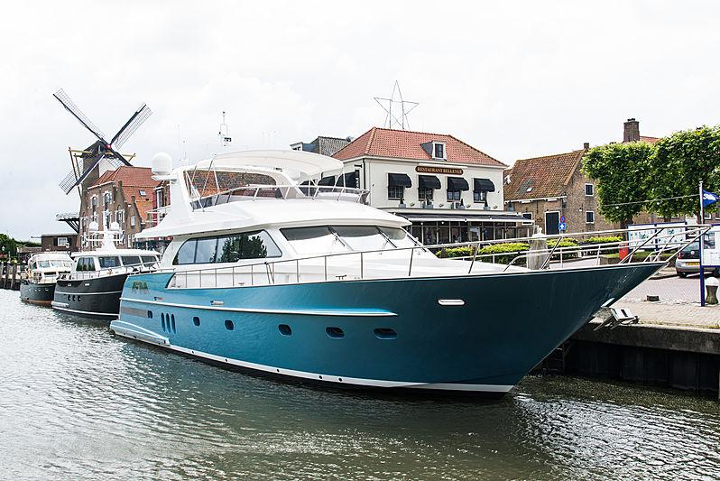 AFINA yacht Van der Valk