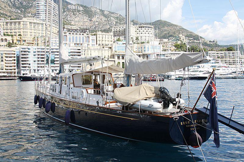 Blue Leopard yacht in Monaco
