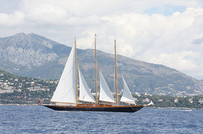 Creole yacht during the Monaco Classic Week 2013