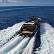 Freedom yacht cruising