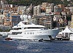 Aquarius yacht in Monaco