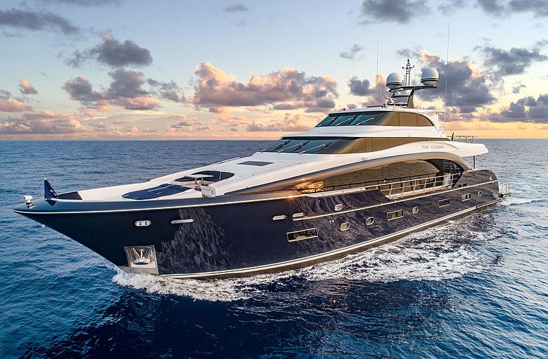 The Legion yacht cruising