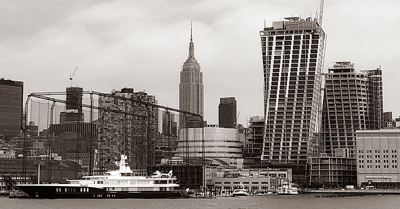Air yacht by Feadship in New York