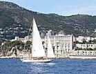 Wayfarer of London yacht off Monaco