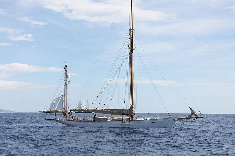 Rosalind Rochelle yacht during the Monaco Classic Week 2013