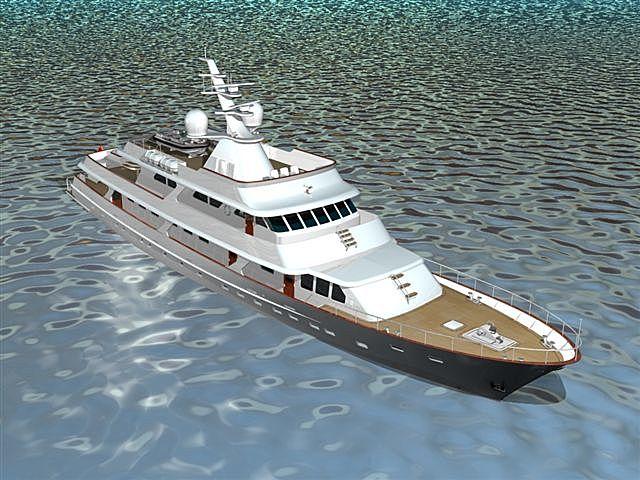 Valeria yacht render