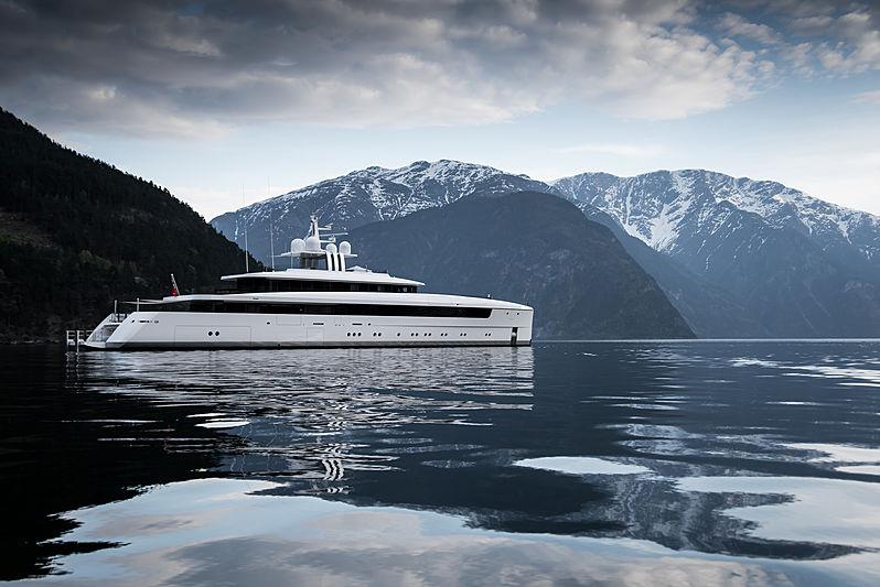 Najiba yacht in Norway