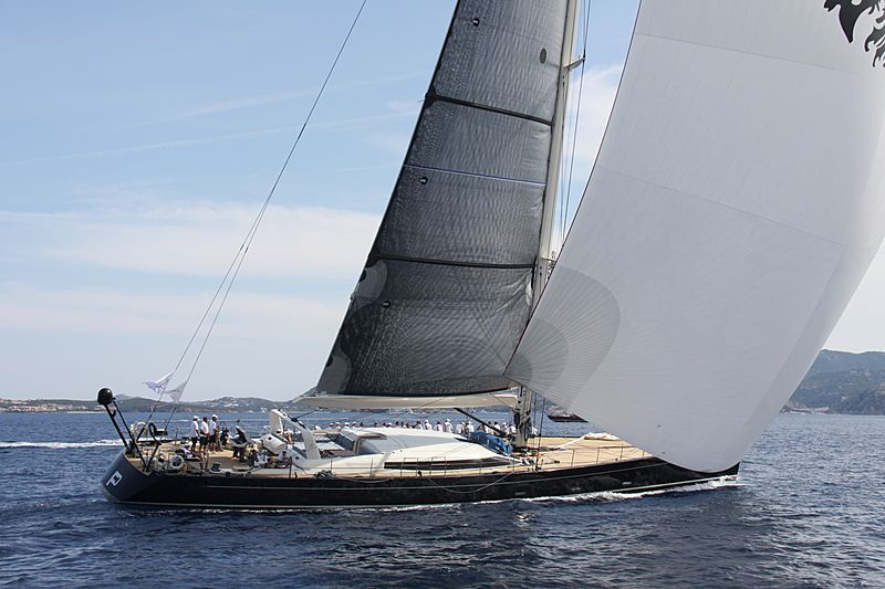 P2 yacht during the Perini Navi Cup 2013