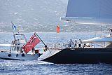 Panthalassa yacht during the Perini Navi Cup 2013