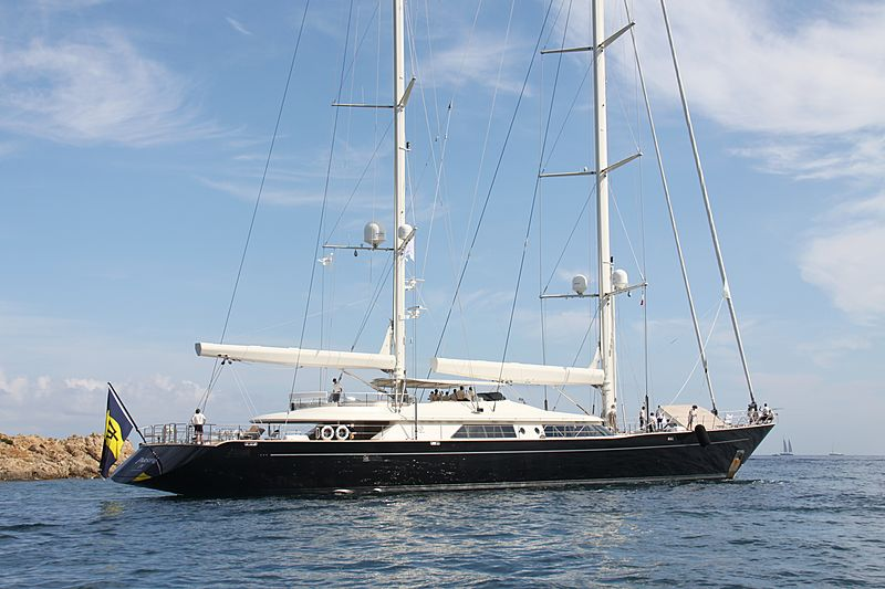 Parsifal IV yacht during the Perini Navi Cup 2013