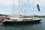 Silencio during the Perini Navi Cup2013