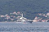 Rahil yacht in Kotor
