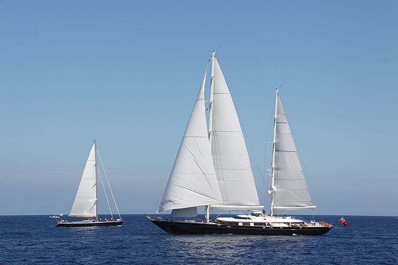 Tamsen yacht during the Perini Navi Cup 2013