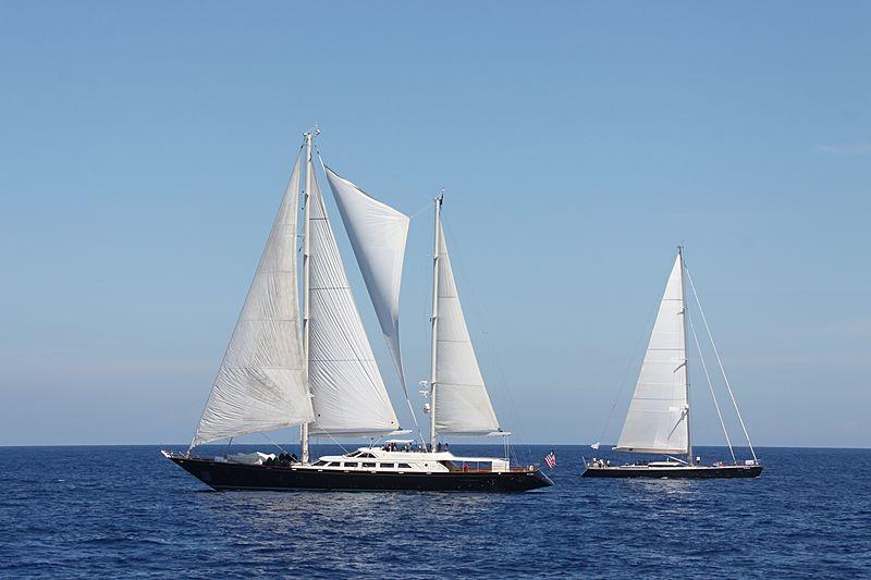 Corelia yacht during the Perini Navi Cup 2013