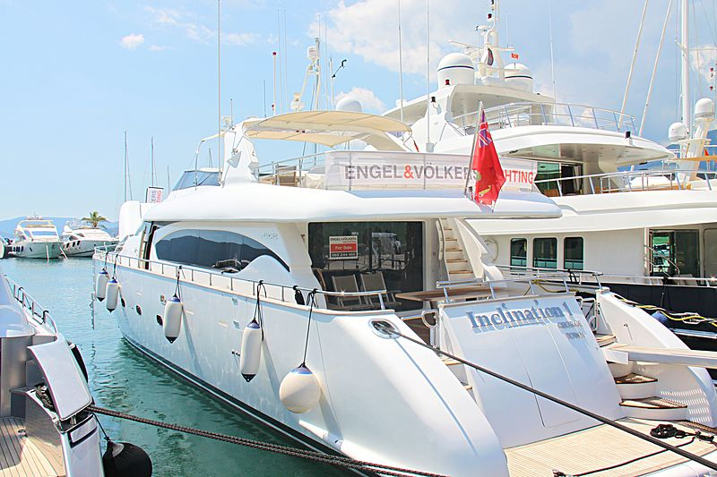 INCLINATION I yacht Maiora