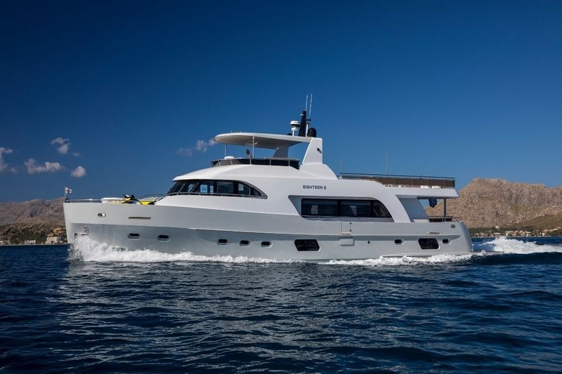 EIGHTEEN 2 yacht Van Der Heijden Steelyachts B.V.