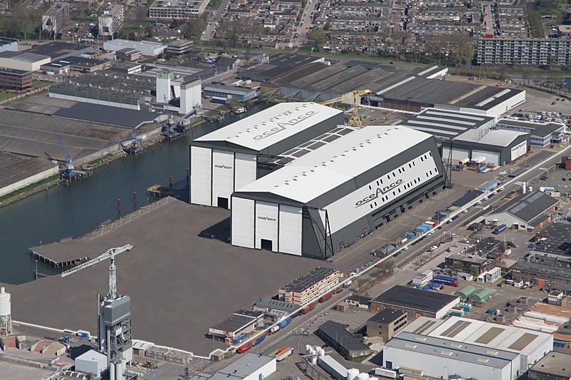 Oceanco shipyard