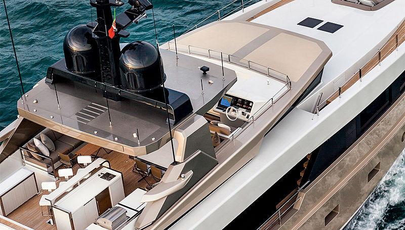 Nono yacht top deck