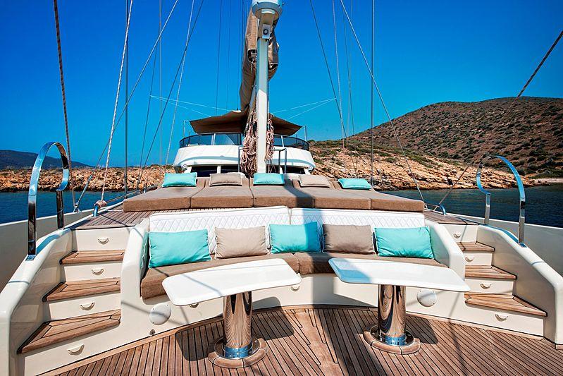 Mermaid yacht exterior