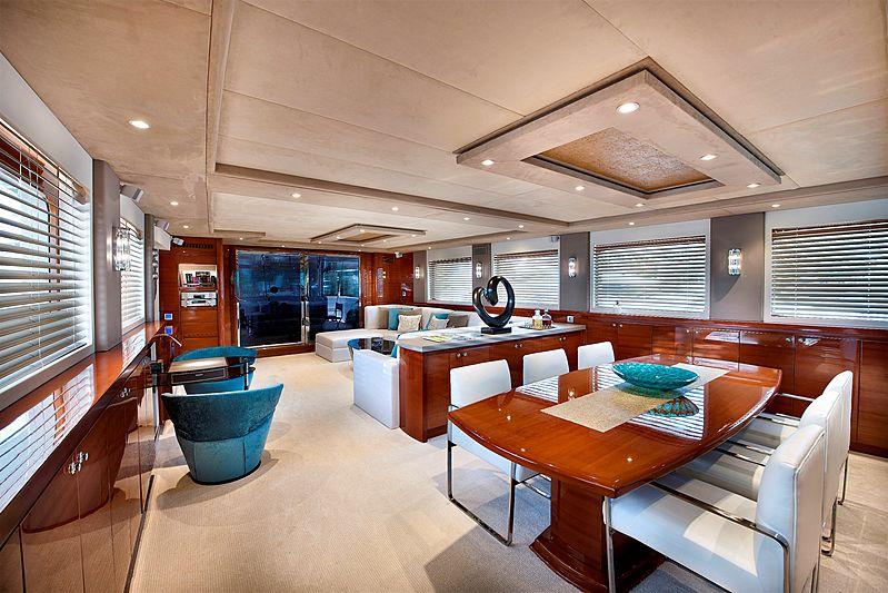 Mermaid yacht interior