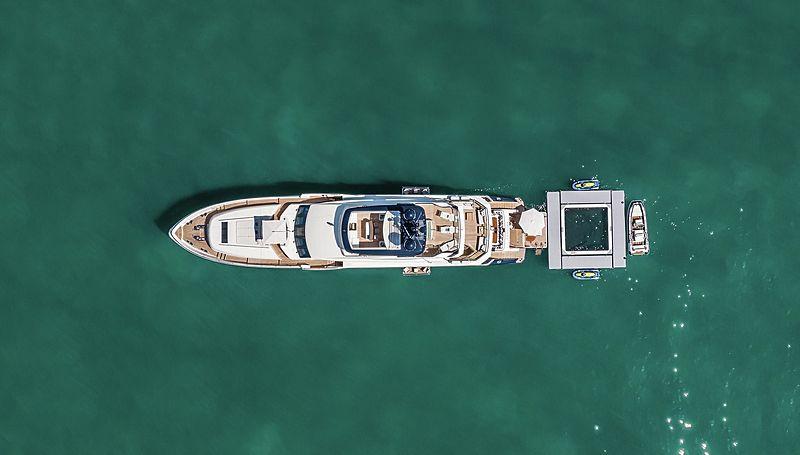 Odyssey superyacht anchored