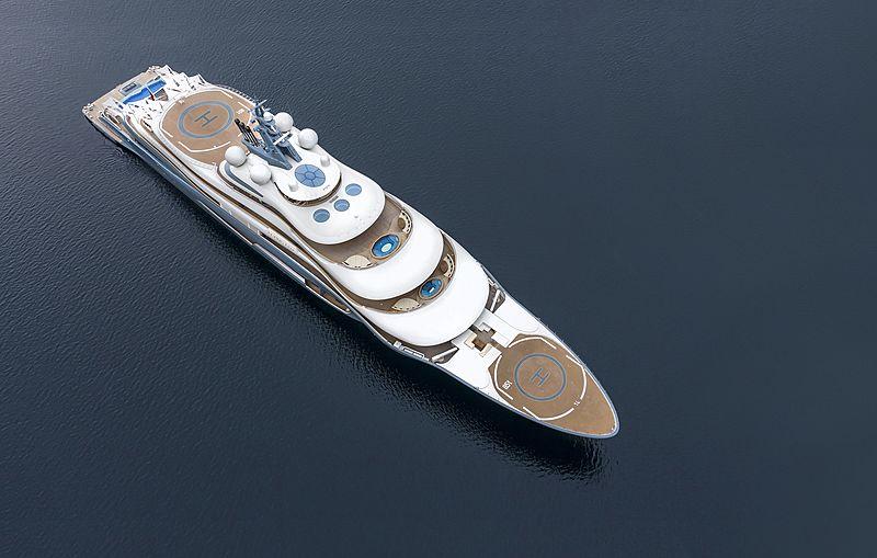 Flying Fox yacht in Norway