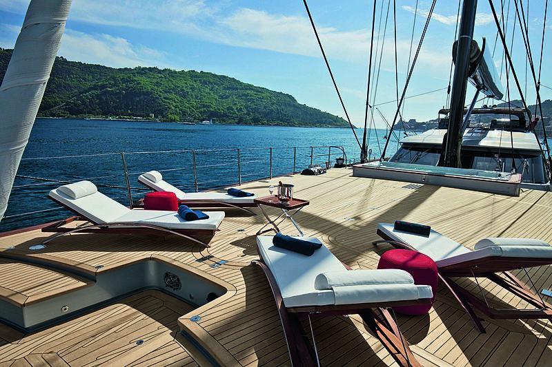 Perseus 3 yacht deck