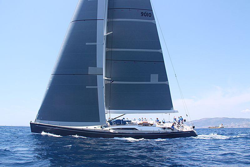 Freya yacht sailing