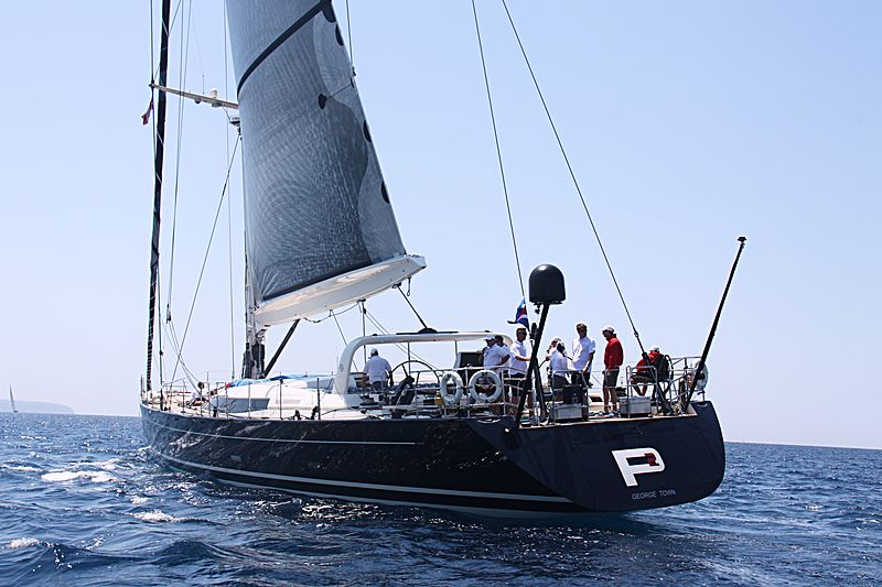 P2 yacht sailing