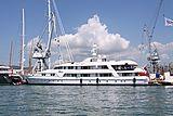 Passion yacht at shipyard